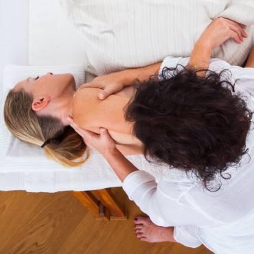 Behandlung in Seitenlage